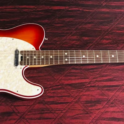 Fender American Elite Telecaster with Ebony Fretboard Aged Cherry Burst Authorized Dealer