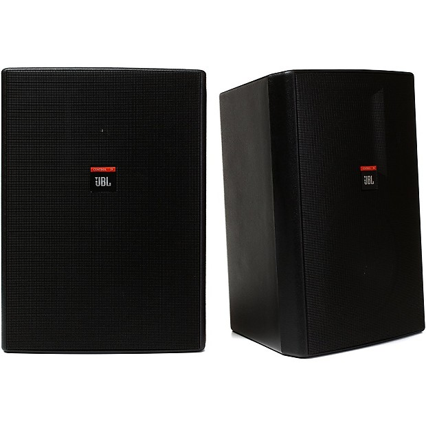 jbl control 28 two way 8 inch weather resistant speaker in. Black Bedroom Furniture Sets. Home Design Ideas
