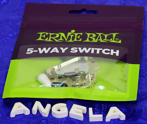 Ernie Ball P06370 5 Way Strat Pickup Switch Reverb