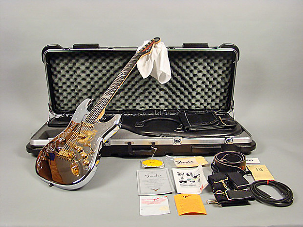 Guitar Made From Harley Parts : fender custom shop harley davidson stratocaster 1993 chrome reverb ~ Russianpoet.info Haus und Dekorationen