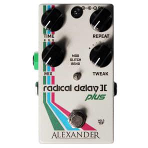 Alexander Pedals Radical Delay II Plus