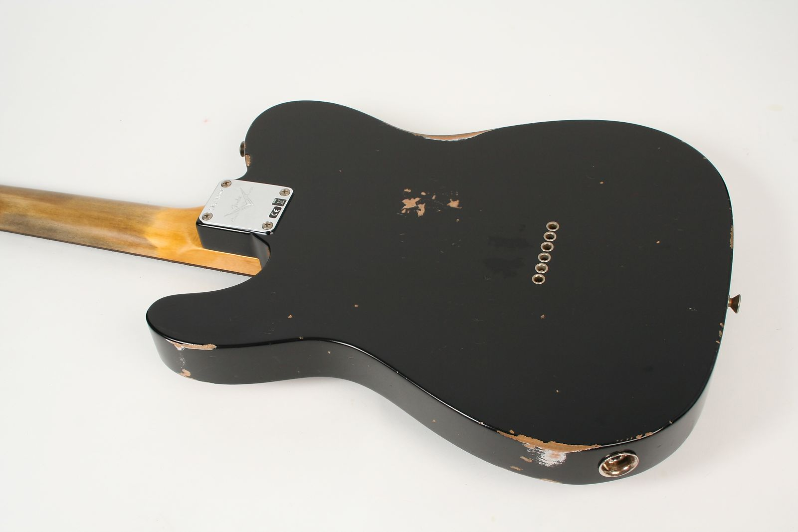Fender Custom Shop 1961 Relic Telecaster New Black Authorized Dealer Sale On Texas Special Pickups Wiring 3650