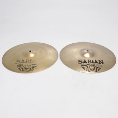 "Sabian Vault Series 14""/36cm Hi-Hats Top & Bottom Video! #41314"
