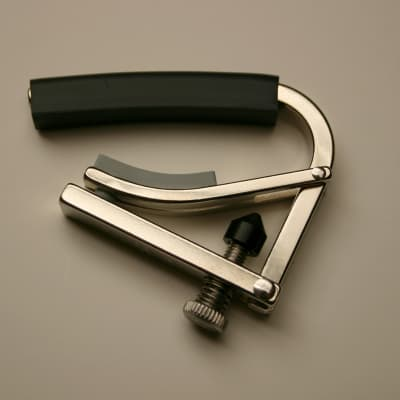 Shubb C4 Electric Guitar Capo - Nickel for sale