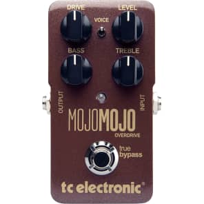 TC Electronic MojoMojo Tube Style Overdrive Guitar Effects Pedal w/ True Bypass