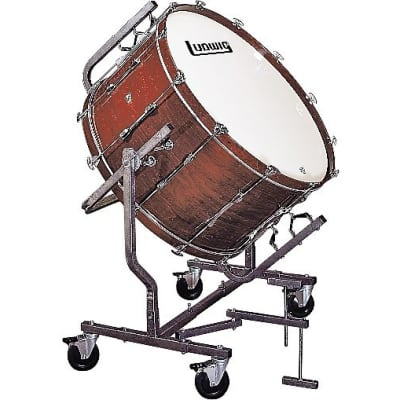 """Ludwig LECB36M8MWF 16x36"""" Mounted Concert Bass Drum for LE788 Stand"""