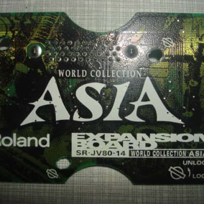 Roland Asia SR-JV80-14 SR JV 80 SRJV80 14 Expansion Board World Sounds