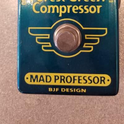 Mad Professor Forest Green Compressor for sale