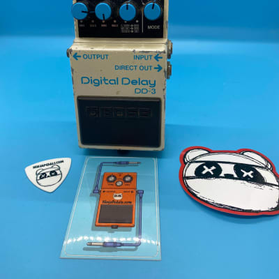 Boss DD-3 Digital Delay | Rare 1992 (Blue Label) Made in Japan | Fast Shipping!