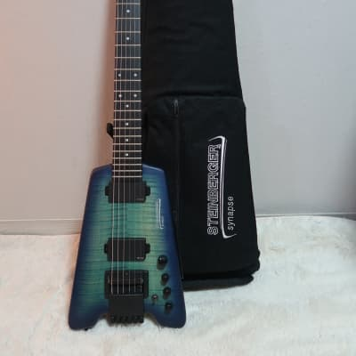 Steinberger Synapse ST-2FPA Trans Blue for sale