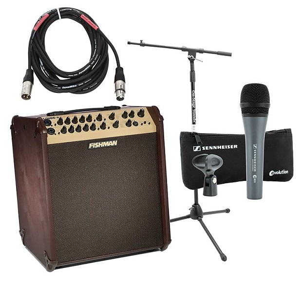 Fishman Loudbox Performer Songwriter Package With Mic