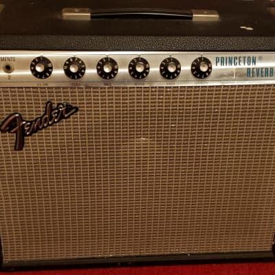 "Fender Princeton Reverb 2-Channel 15-Watt 1x10"" Guitar Combo 1976"