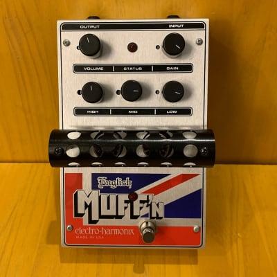 Electro-Harmonix English Muff'n Tube Distortion with Original Box & Power Supply