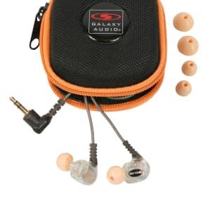 Galaxy Audio EB-10 Professional Dual-Driver In-Ear Monitor Headphones