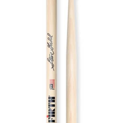 Vic Firth SSG2 Steve Gadd Wood Tip Drumsticks, Clear Finish