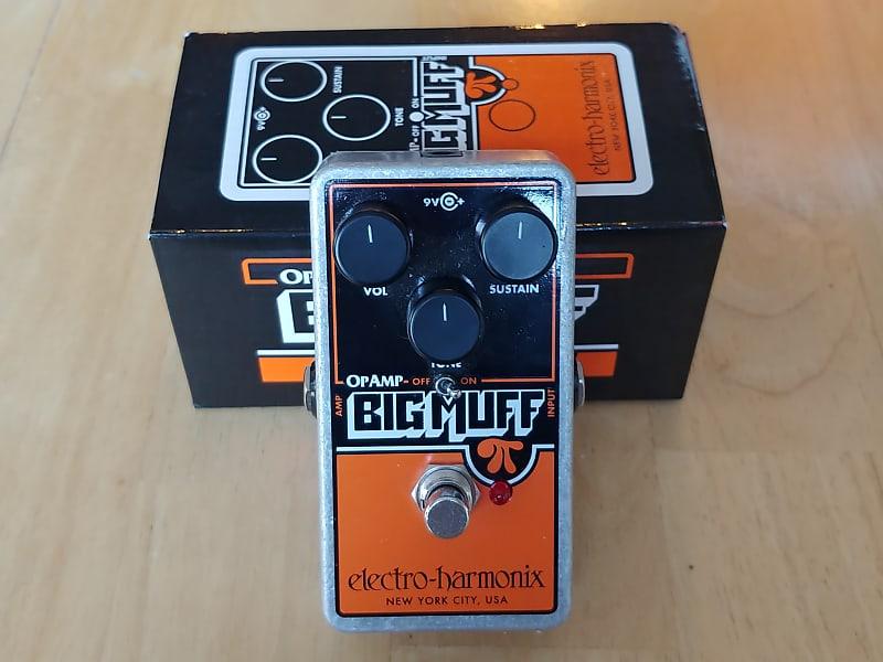 ehx electro harmonix op amp big muff pi reissue 2018 fuzz reverb. Black Bedroom Furniture Sets. Home Design Ideas