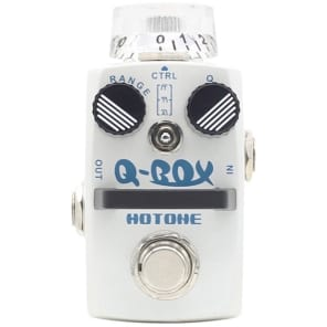 Hotone Q-Box Envelope Filter Guitar Effects Pedal for sale
