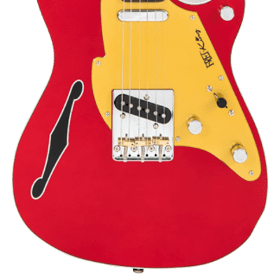 Fret-King 'JJ' John Jorgenson Artist  Candy Apple Red for sale