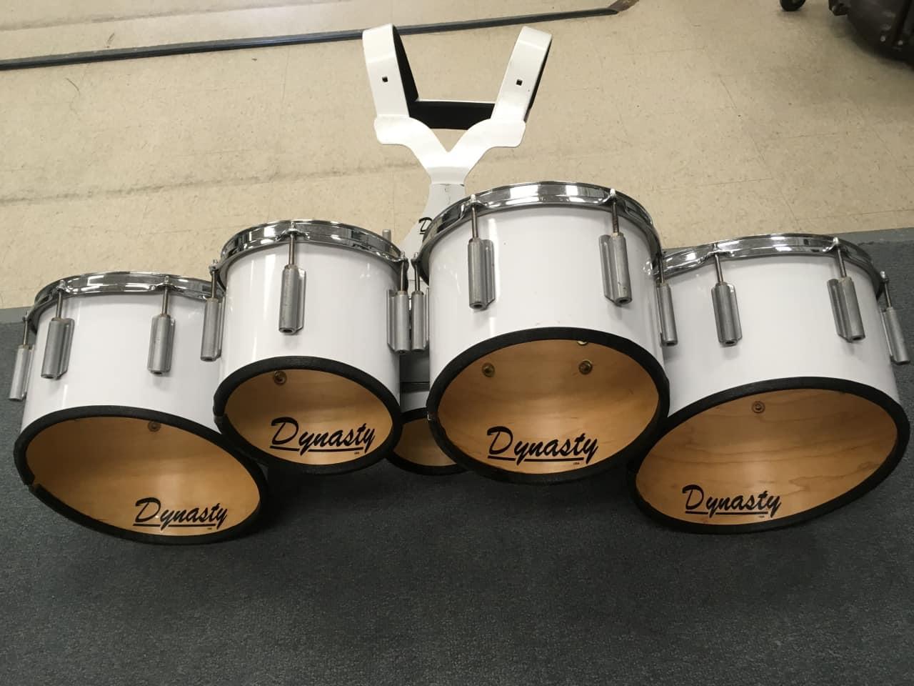 dynasty marching tenor drums quints quads reverb. Black Bedroom Furniture Sets. Home Design Ideas