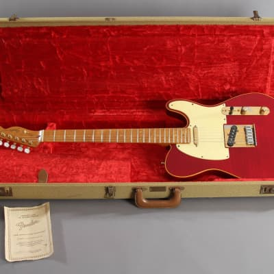 1988 Fender Custom Shop 40th Anniversary Telecaster Translucent Red #119 of 300 for sale