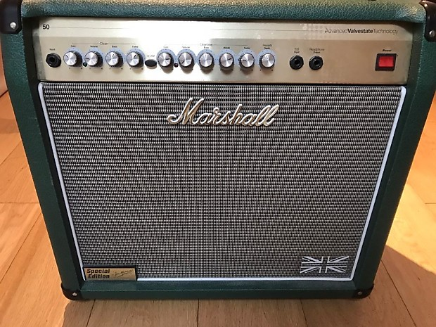 Marshall AVT50 Amp British Racing Green Special Edition | Reverb