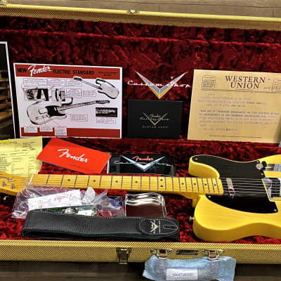 Fender  Broadcaster 1950 Time Capsule 70th Anniversary Limited Edition Time Capsule Finish for sale
