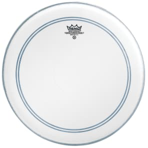 """Remo Powerstroke P3 Coated Bass Drum Head 18"""""""