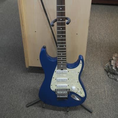 Floyd Rose Discovery Series Blue electric guitar for sale