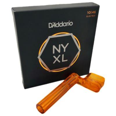 D'Addario NYXL1046-3P, 10-46  (3-Pack) Free String Winder