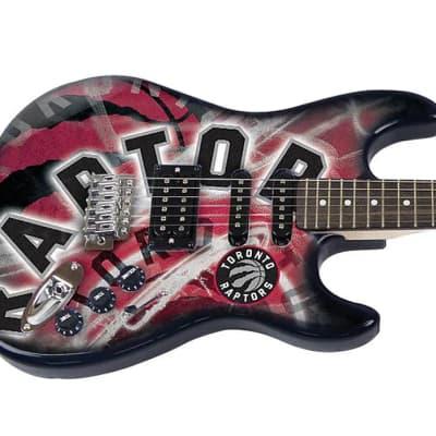 Woodrow NENBA28 Toronto Raptors Northender Guitar ,