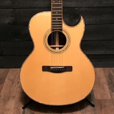 Samick ASMJR CE All Solid Wood Series Acoustic Electric Guitar for sale