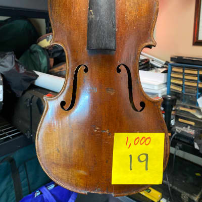 Beautiful Old Violin 4/4 1-pc back