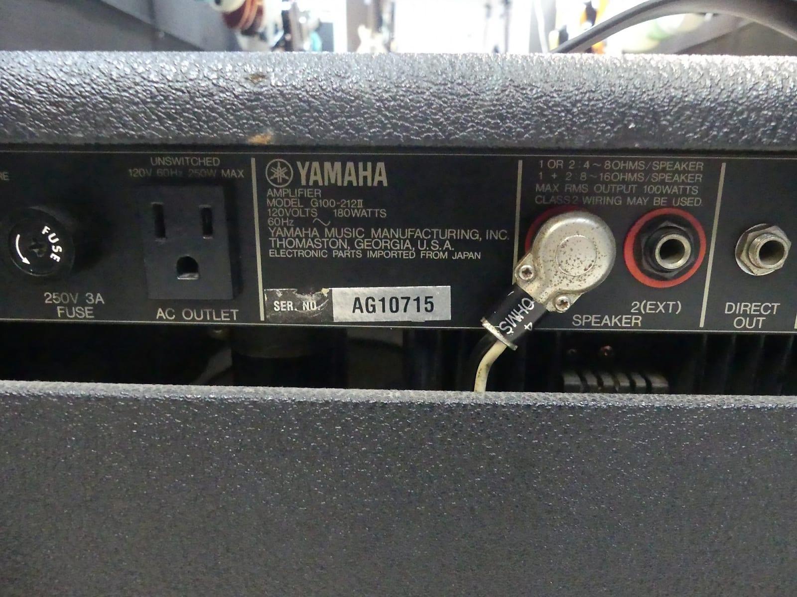 Yamaha G100 212-II 1978 Black