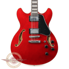 Brand New Ibanez AS7312 Artcore 12 String Electric Guitar in Transparent Cherry Red image