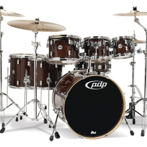 """PDP PDCM2217TW Concept Maple Series 7x8"""" / 8x10"""" / 9x12"""" / 12x14"""" / 14x16"""" / 18x22"""" / 5.5x14"""" 7pc Shell Pack"""
