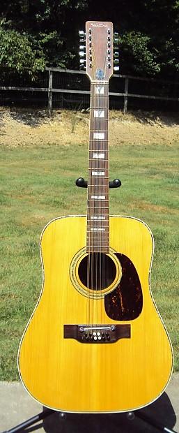 Beautiful Rare Vintage Ventura V 697 12 String Acoustic Reverb