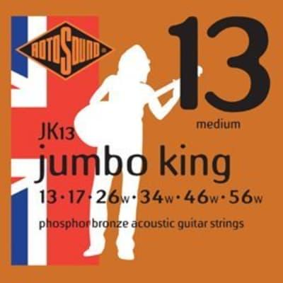Rotosound Jumbo King Phosopher Bronze 13-56 for sale