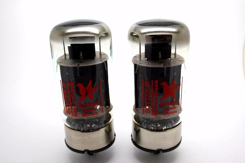 SOVTEK 6550WE 6550 MATCHED PAIR VACUUM TUBE AMP TESTED
