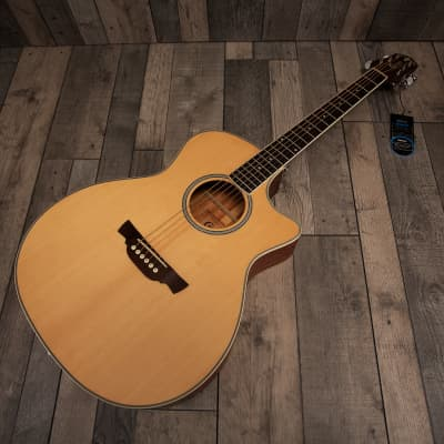 Crafter GAE-6 N Natural Electro Acoustic Guitar for sale