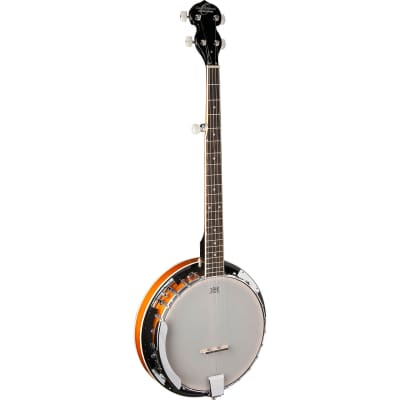 Oscar Schmidt OB4 5-String Resonator Banjo, Gloss Finish for sale