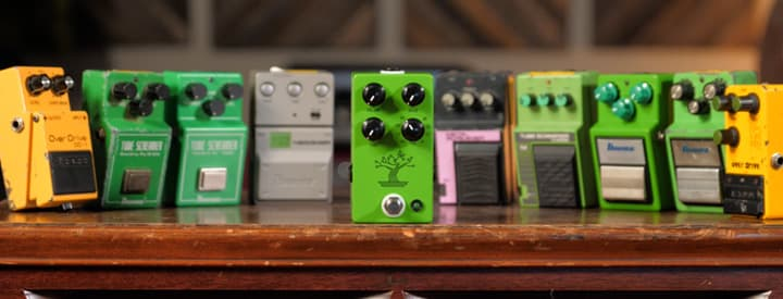 Video: JHS Offers Nine Tube Screamers in One with New Bonsai Pedal