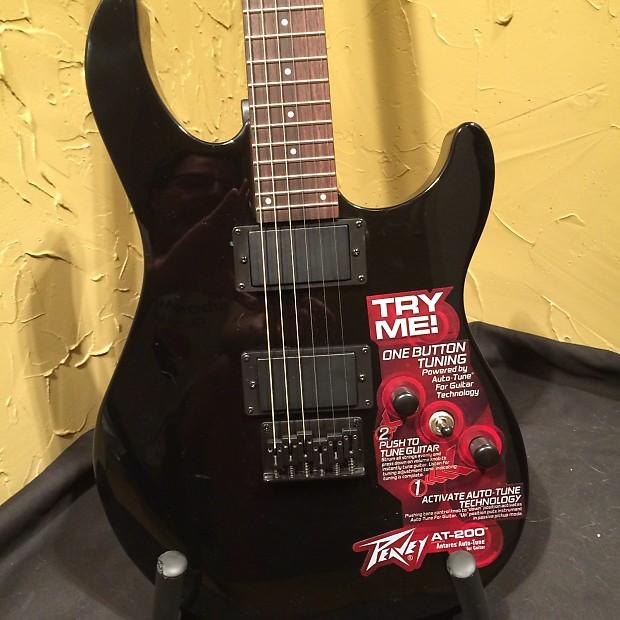 peavey at 200 auto tune black electric guitar reverb. Black Bedroom Furniture Sets. Home Design Ideas