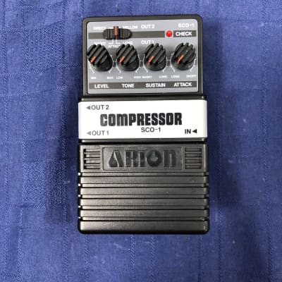 Arion SCO-1 Compressor Electric Guitar Effects Pedal for sale