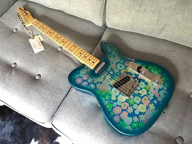 Fender japan 69 reissue telecaster blue flower paisley reverb fender japan 69 reissue telecaster blue flower paisley cij publicscrutiny Gallery