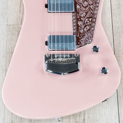Ernie Ball Music Man Omar Rodriguez-Lopez Mariposa Guitar, Pueblo Pink