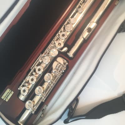 Musikwerks NEW Semi-Professional Flute Solid Silver Head Body and Foot-French B Foot