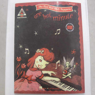 Red Hot Chili Peppers One Hot Minute Sheet Music Song Book Songbook Guitar Tab Tablature