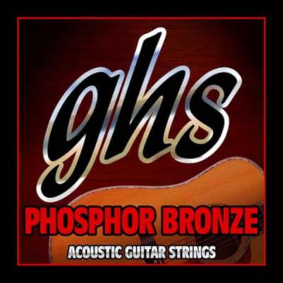 GHS Guitar Strings Acoustic Extra Light Phosphor Bronze 11-50 for sale