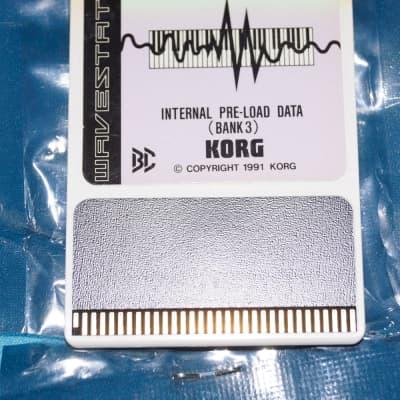 Korg Wavestation WS EX WPC 00P III Internal preload DATA Bank 3