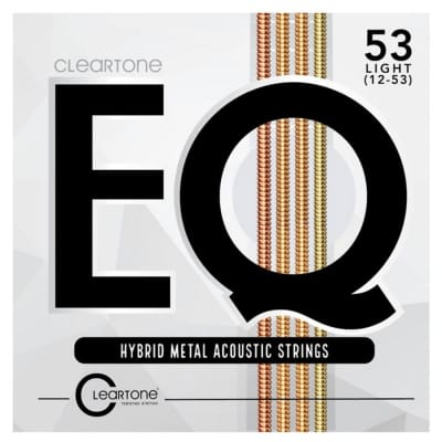 Cleartone 7812 EQ 12-53 Acoustic Guitar Strings